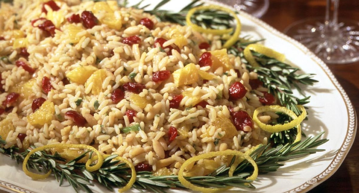 how to add flavor to rice pilaf